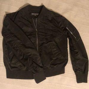 Uniqlo Olive Bomber Jacket L